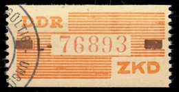 1960, DDR Verwaltungspost B Zentraler Kurierdienst, V L, Cto - Dienstpost