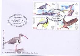 2018. Kyrgyzstan, Birds Of Kyrgyzstan, FDC, Mint/** - Kirgizië