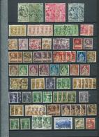 SUISSE. Collection D'oblitérés Sur 34 Pages. - Timbres