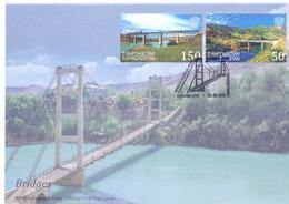 2018. Kyrgyzstan, Bridges Of Kyrgyzstan, FDC, Mint/** - Kirghizistan