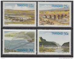 D101120 Transkei 1985 South Africa  BRIDGES RIVERS Engineering MNH Set  - Afrique Du Sud Afrika RSA Sudafrika - Transkei