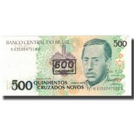 Billet, Brésil, 500 Cruzeiros On 500 Cruzados Novos, Undated (1990), KM:226b - Brésil