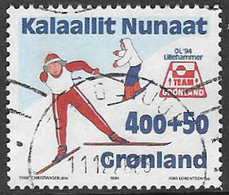 Greenland SG266 1994 Winter Olympics 4k+50ö Good/fine Used [39/31716/6D] - Greenland