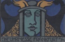 Thematik: Ausstellung: Einfuhrmesse Frankfurt/Main 1919 Mit Germania - Germany