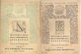 EDITORIAL BARCINO  1928 - Geografía Y Viajes