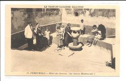 DEP. 82 FENEYROLS N°11 HOTEL DES SOURCES - LA SOURCE BANBOUZOLE Belle Animation, Enfants - France