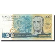 Billet, Brésil, 100 Cruzados, 1987, 1987, KM:211c, TTB - Brésil