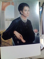 MARIA CALLAS DIPINTO OLIO  U SARTINI  TEATRO ALLA SCALA  N1980  GY6378 - Teatro