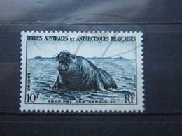VEND BEAU TIMBRE DES T.A.A.F. N° 6 , XX !!! - Terres Australes Et Antarctiques Françaises (TAAF)