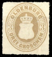 1862, Altdeutschland Oldenburg, 19 B, (*) - Oldenburg