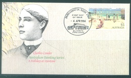 AUSTRALIA  - FDC - 4.4.1984 - PAINTING MENTONE CHARLES CONDER  - Yv 855 - Lot 18665 - Premiers Jours (FDC)
