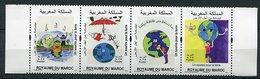 (lot 62) Maroc ** - Année 2018 - Un Sourire Pour La Terre - - Morocco (1956-...)