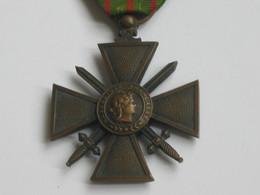 Médaille/Décoration - Croix De Guerre 1914-1918 Avec 1 Citation    **** EN ACHAT IMMEDIAT **** - France