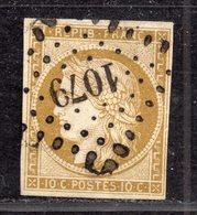 Cérès  N° 1b  Avec Oblitération Losange Centrale Petits Chiffres 1079 Signé Brun  TTB - 1849-1850 Ceres