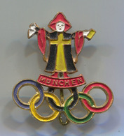 Olympic Olympiade - Munchen Germany, Vintage Pin, Badge, Abzeichen - Olympic Games