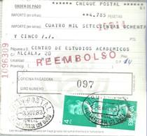 GIRO 1983   VILLARUBIA DE LOS OJOS   CIUDAD REAL - 1931-Hoy: 2ª República - ... Juan Carlos I