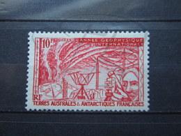 VEND BEAU TIMBRE DES T.A.A.F. N° 9 , XX !!! - Terres Australes Et Antarctiques Françaises (TAAF)