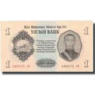 Billet, Mongolie, 1 Tugrik, 1955, 1955, KM:28, NEUF - Moldavie