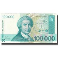 Billet, Croatie, 100,000 Dinara, 1993, 1993, KM:27A, SPL+ - Croatie