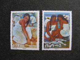 Polynésie: TB Paire N° 829 Et N° 830, Neufs XX. - Neufs