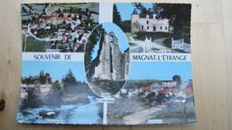 MAGNAT-L'ETRANGE. Multivues: Vues Générales, Château Du Bost, La Rozeille. - France