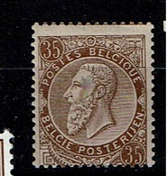 49  **  70 - 1884-1891 Leopold II.