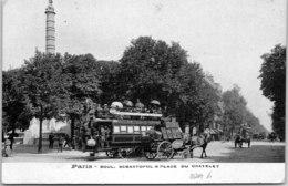 75004 PARIS - Bld Sébastopol Et Place Du Chatelet - Arrondissement: 04