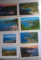 8 CARTOLINE ISOLA D'ELBA   (151) - Cartes Postales