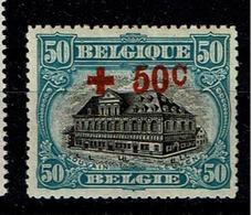 159  **  110 - 1918 Croix-Rouge