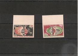 MALI   Année 1966  N° Y/T :85/86** Non Dentelés - Mali (1959-...)