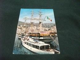 NAVE SHIP VELIERO 1° PIANO NAVE SCUOLA A. VESPUCCI IN PORTO A MONACO MONTECARLO - Segelboote