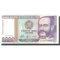 Billet, Pérou, 5000 Intis, 1988, 1988-06-28, KM:137, NEUF - Pologne