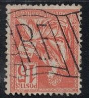 MOUCHON - PARIS - DRAPEAU - RF - SUR MOUCHON N°117. - Marcophilie (Timbres Détachés)