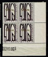259  Bloc 4  **  Bdf  Dépôt 1928 - Belgien