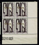 259  Bloc 4  **  Bdf  Dépôt 1928 - Belgium