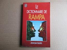 Le Dictionnaire De Rampa (T. Losang Rampa) éditions J'ai Lu De 1998 - Dictionnaires