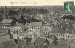 BOURBOURG  Vue Generale Avec Grand' Place Recto Verso - France