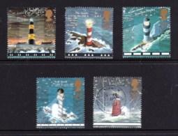 Great Britain 1998 Lighthouses Set Of 5 Used - 1952-.... (Elizabeth II)