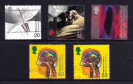 Great Britain 1999 Millenium Series: The Inventors' Tale Set Of 4 Used - 1952-.... (Elizabeth II)