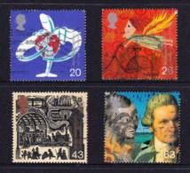 Great Britain 1999 Millenium Series: The Travellers' Tale Set Of 4 Used - 1952-.... (Elizabeth II)