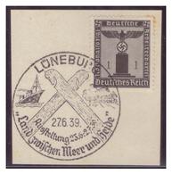 Dt-Reich (007292) Sonderstempel Auf Briefstück, Lüneburg, Ausstellung Land Zwischen Meer Und Heide, Gestempelt 27.6.1939 - Deutschland