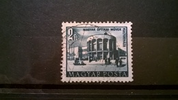 FRANCOBOLLI STAMPS UNGHERIA MAGYAR POSTA 1953 SERIE PIANO QUINQUENNALE CASA DELLE CULTURE  HUNGERY - Ungheria