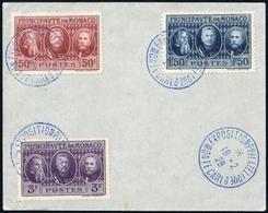 1928, Monaco, 108-10, FDC - Monaco