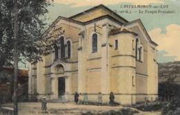 CPA - Castelmoron Sur Lot - Le Temple Protestant - Castelmoron