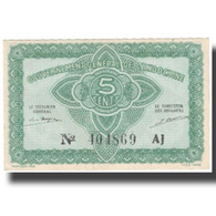 Billet, FRENCH INDO-CHINA, 5 Cents, Undated (1942), KM:88a, SPL+ - Indochine