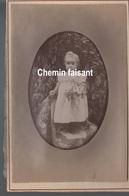 Avant 1900 - Photographie Originale D'une Fillette - GANIN Vizille 38 - Format 110x165mm - Scans  Recto-verso - Photos