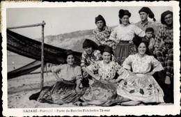 Cp Nazare Portugal, Parte Do Rancho Folclorico Ta Mar - Trachten
