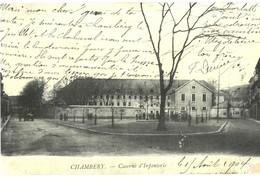 CPA N°24613 - LOT DE 4 CARTES DE CHAMBERY - REPRODUCTION - Chambery