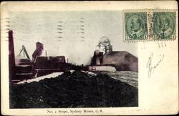 Cp Sydney Nova Scotia Kanada, No. 2 Slope, Sydney Mines - Alberta
