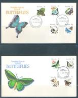 AUSTRALIA  - FDC - 15.6.1983 - BUTTERFLIES - Yv 825-834 - Lot 18674 - Premiers Jours (FDC)